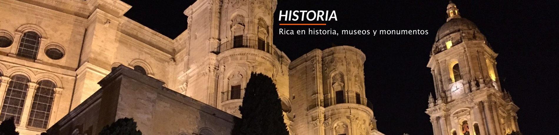 Historia rica en historia, museos y monumentos