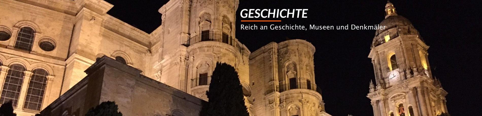 Geschichte, die reich an Geschichte, Museen und Denkmäler